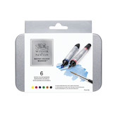 Winsor & Newton Water Colour Markers Set of 6 Basic