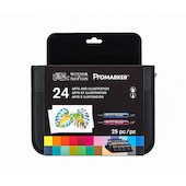 Winsor & Newton ProMarkers Set of 24 Arts and Illustration