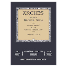 Arches Drawing Pad White 10x14