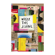 Wreck this Journal Now in Colour