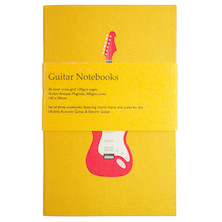 Back Pocket Guitar Notebooks Set of 3