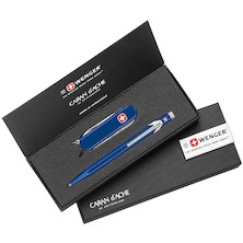 Caran d'Ache Duo Classic Ballpoint and Penknife