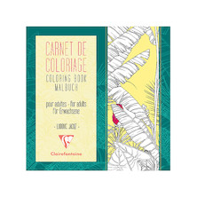 Clairefontaine Adult Colouring Book Flowers