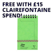 Clairefontaine Europa Minor Pad Notepad Promotion