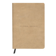 Clairefontaine Flying Spirit Leather Notebook A5 Beige