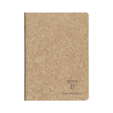 Clairefontaine Cocoa Stapled Notebook A5