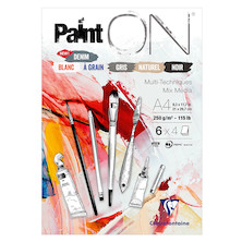 Clairefontaine Paint On Pad Assorted Sheets A4
