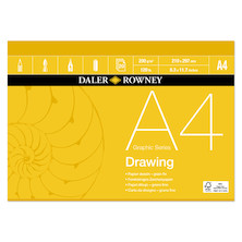 Daler-Rowney Graphic Series Drawing Pad A4