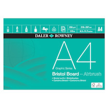 Daler-Rowney Graphic Series Bristol Pad A4