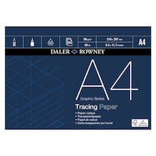 Daler-Rowney Graphic Series Tracing Pad 90gsm A4