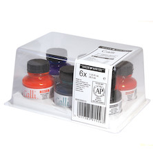 Daler-Rowney Calligraphy Ink 29.5ml Colour Set of 6
