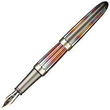 Diplomat Aero Fountain Pen Gold Nib Flame