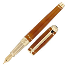 S.T. Dupont Line D Fountain Pen Derby Yellow Gold