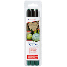 edding 1255 Calligraphy Pen 3 Assorted