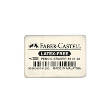 Faber-Castell Latex-Free Pencil Eraser