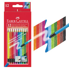 Faber-Castell Erasable Colour Pencils Set of 12
