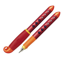 Faber-Castell School Fountain Pen Orange