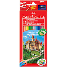 Faber-Castell Eco Colouring Pencils Box of 12