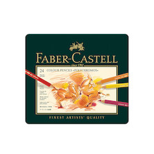 Faber-Castell Polychromos Coloured Pencil Set of 24