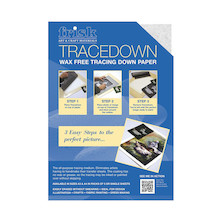 Frisk Tracedown A4 5 Sheets White