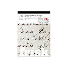 Frisk Calligraphy Paper Pad A5