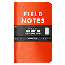 Field Notes Expedition Dot Grid Pocket Notebook Set of 3
