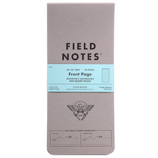 Field Notes Front Page Notebook Set of 2
