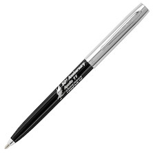 Fisher Space Pen Cap-O-Matic Apollo 11 50th Anniversary Pressurised Ballpoint Pen Black and Chrome