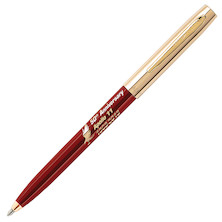Fisher Space Pen Cap-O-Matic Apollo 11 50th Anniversary Pressurised Ballpoint Pen Red and Gold