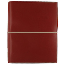 Filofax Domino A5 Organiser Red