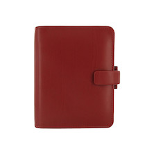 Filofax Metropol Pocket Organiser Red
