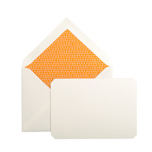 Jacques Herbin Card and Envelope Set 90x140 Amber