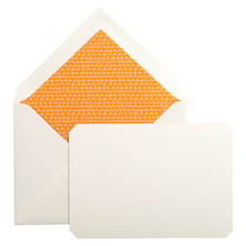 Jacques Herbin Card and Envelope Set C6 Amber
