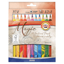Koh-I-Noor Magic Lead Colouring Pencils Set of 12+1