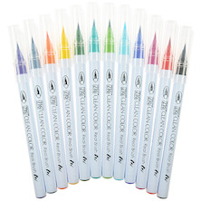 Kuretake Zig Clean Color Real Brush Pen RB-6000A Limited Edition 12 Colour Set