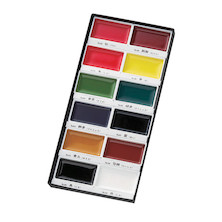 Kuretake Gansai Tambi Watercolour Paint Set of 12