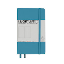Leuchtturm1917 Hardcover Notebook Pocket Nordic Blue