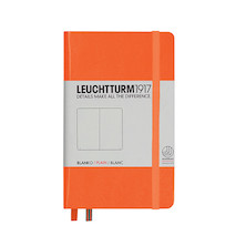 Leuchtturm1917 Hardcover Notebook Pocket Orange