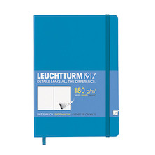 Leuchtturm1917 Sketchbook Medium Azure