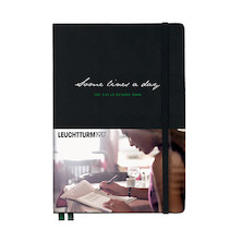 Leuchtturm1917 Some Lines a Day Five Year Memory Book Black