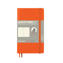 Leuchtturm1917 Softcover Notebook Pocket Orange