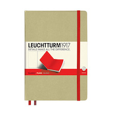 Leuchtturm1917 Hardcover Notebook Medium BiColore Sand-Red