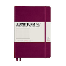 Leuchtturm1917 Hardcover Notebook Medium Port Red