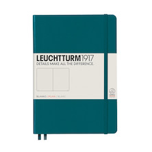 Leuchtturm1917 Hardcover Notebook Medium Pacific Green