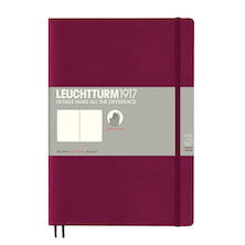 Leuchtturm1917 Softcover Notebook B5 Port Red