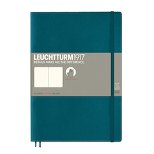 Leuchtturm1917 Softcover Notebook B5 Pacific Green