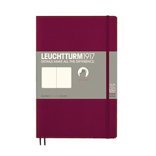 Leuchtturm1917 Softcover Notebook B6+ Port Red