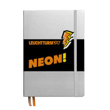 Leuchtturm1917 Hardcover Notebook Neon Orange Dotted