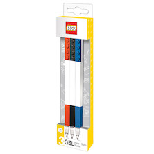 LEGO Gel Pen Assorted Set of 3