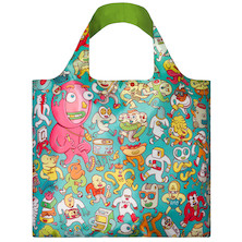 LOQI Shopping Bag Folks